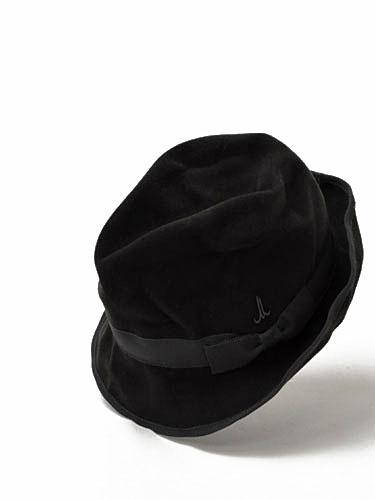 Muhlbauer【ミュールバウアー】中折れ帽子 チロリアンハット CM527-3 wool ANTHRACITE(グレー)