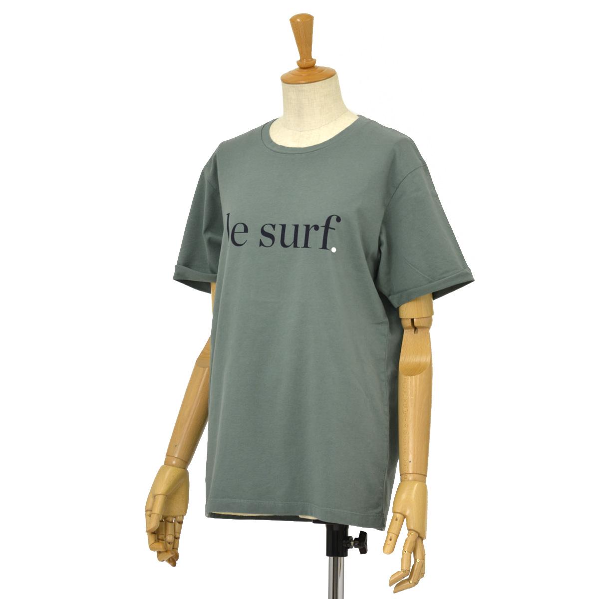 CUISSE DE GRENOUILLE【キュイス ドゥ グルヌイユ】プリントカットソー ESQUISSE 01 LE SURF コットン カーキ