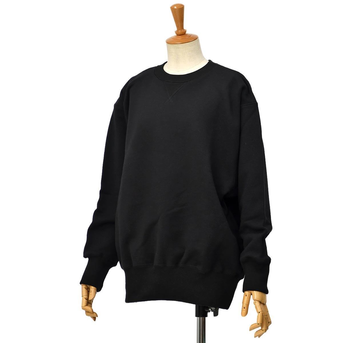 【30%OFF】【size1】Letroyes【ルトロア/ルトロワ】スウェット MARC LTC018 Noir コットン ブラック