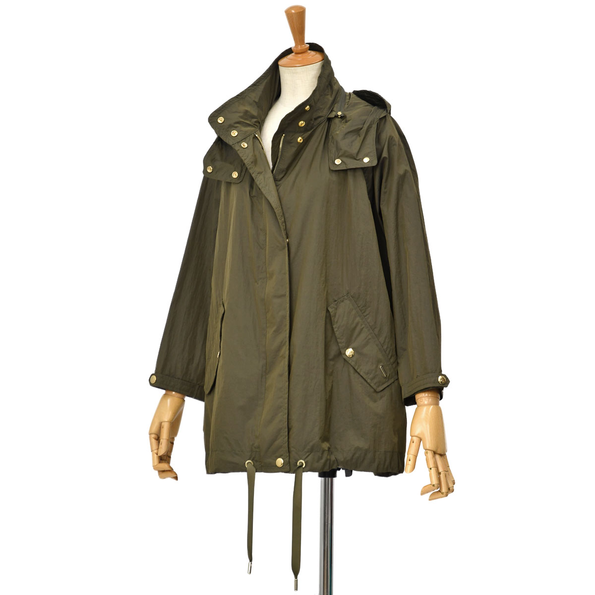 【30%OFF】WOOLRICH【ウールリッチ】フーデッドコート ANORAK WWOU0465 6291 ARMY OLIVE ナイロン カーキ