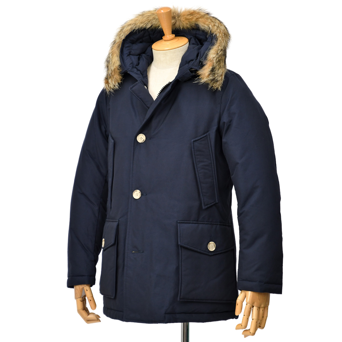 【30%OFF】【size M】WOOLRICH【ウールリッチ】ダウンジャケット ARCTIC PARKA WOCPS2919 MELTON BLUE ネイビー